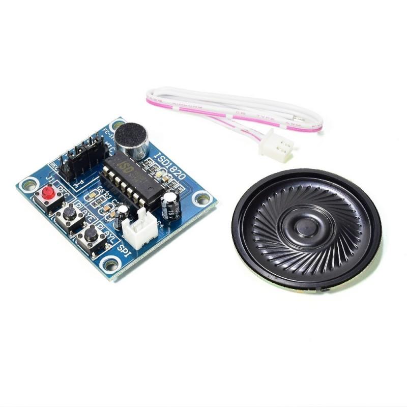 Grabador de voz y parlante - ISD1820