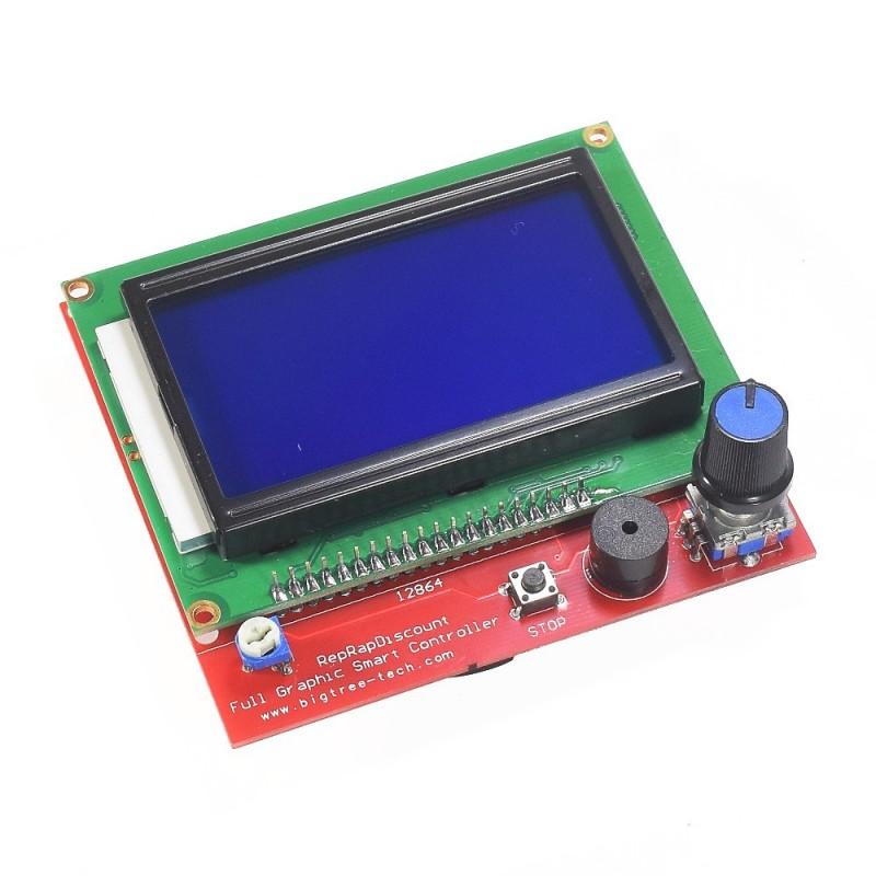 Smart controller LCD 12864 para Printer 3D