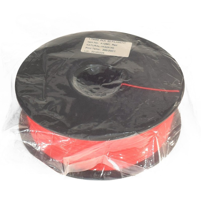 Rollo PLA 1.75mm rojo