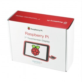 "Display touch Raspberry Pi 7"" (DSI) - Oficial"