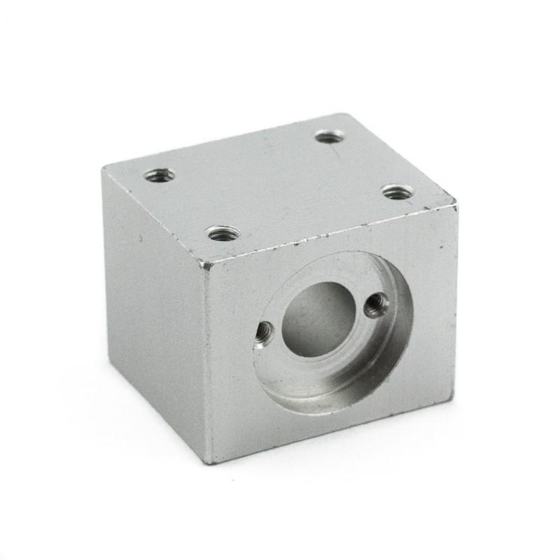 Bloque de aluminio para tuerca M8
