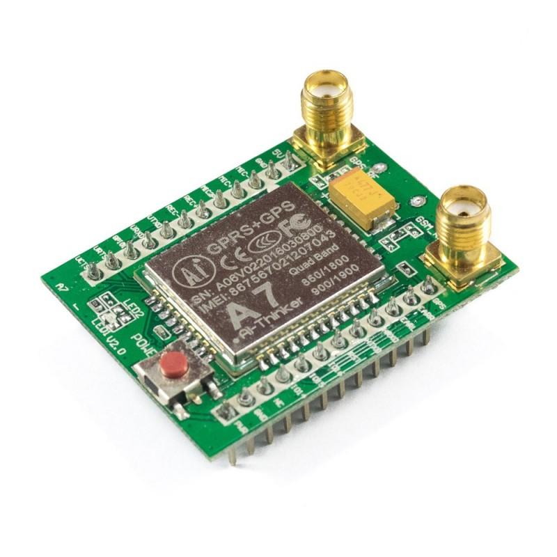 GPS + GSM: Espressif A7