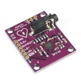 Módulo Sensor de pulsos ECG AD8232 con sondas