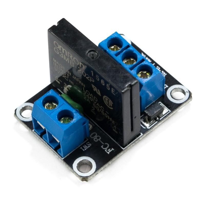 Módulo SSR 1CH 5VDC