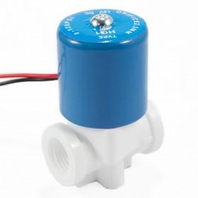 Válvula solenoide baja presión conector roscado