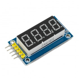 Módulo display 7 segmentos 4 digitos
