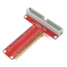 Adaptador RPi a protoboard y Flat