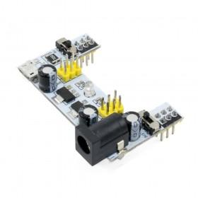 Fuente para protoboard con micro USB