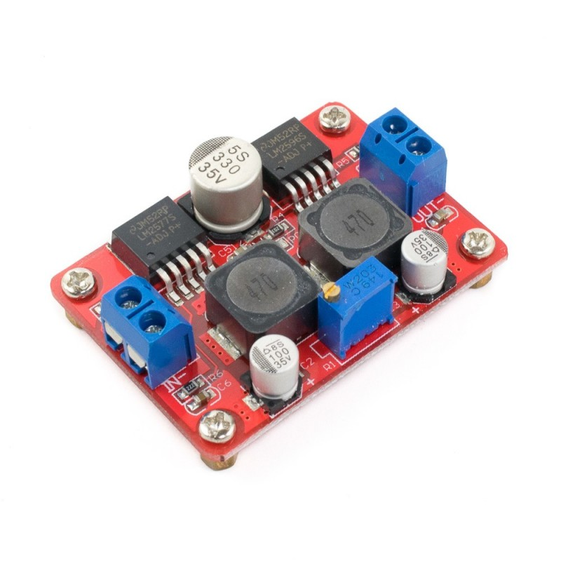 Módulo Step up down LM2577S + LM2596S