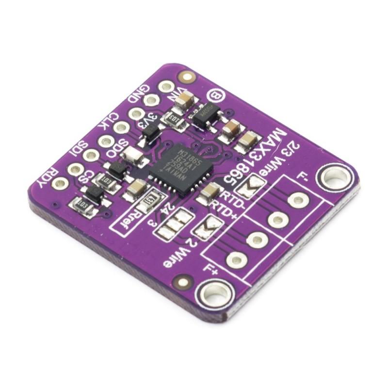 Modulo transmisor RTD PT100 MAX31865