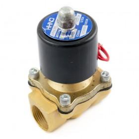 """Válvula Solenoide 3/4"""" baja presión 220VAC"""