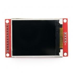 """Display a color LCD 2.0"""" (ILI9225)"""