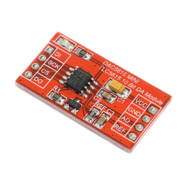 Módulo DAC TLC5615