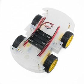 Plataforma Robot Móvil 4WD
