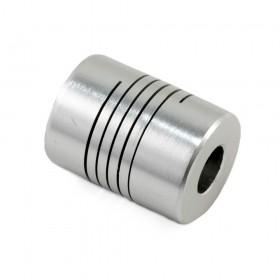 Acople flexible de aluminio de 8mm a 8mm