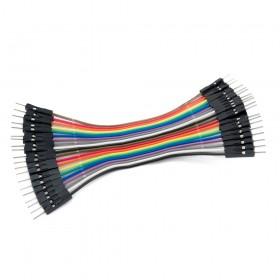 Cable Dupont macho a macho 10cm / 20Und