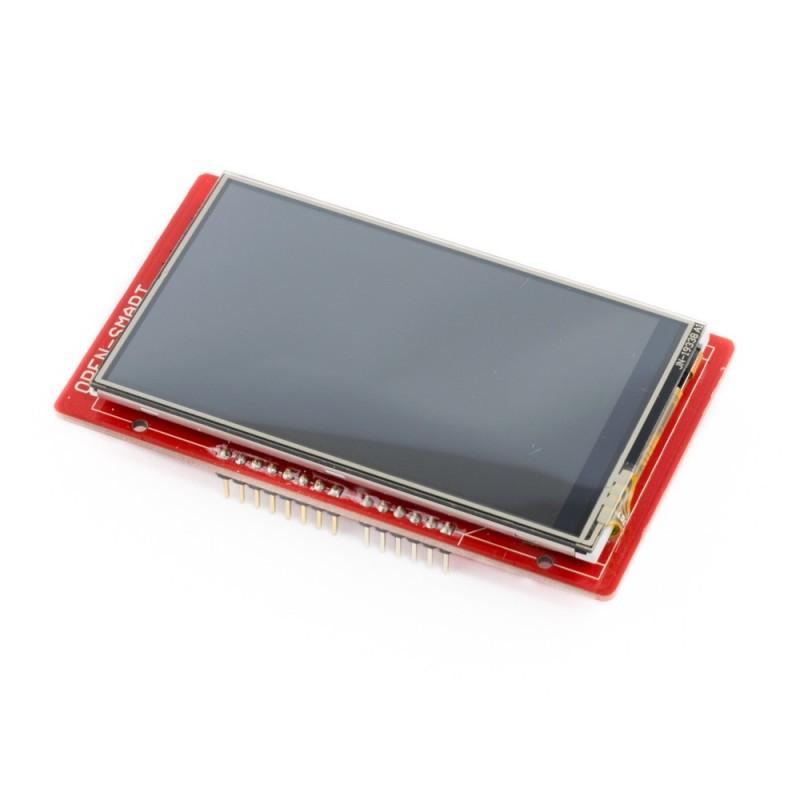 """Shield Display LCD TFT 3.2"""" tactil"""