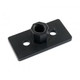 Placa con tuerca para tornillo de potencia D8mm