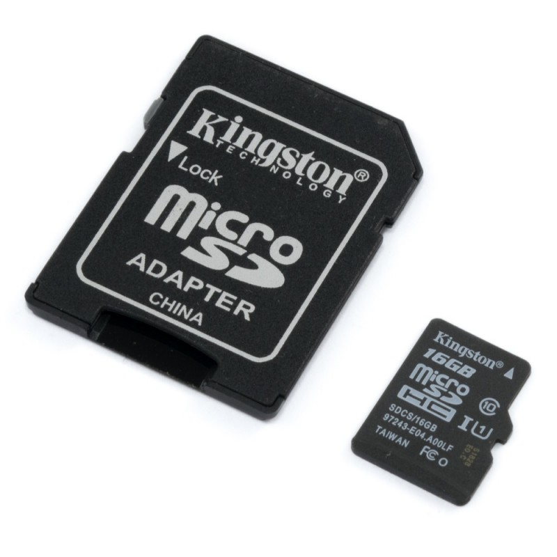 Memoria micro SD card 16GB Clase 10