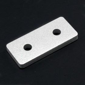 Placa de unión recta de 2 agujeros