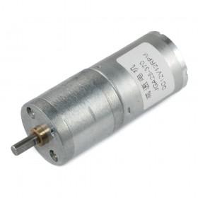 Motor DC con caja reductora JGA25-370 - 12V 12rpm