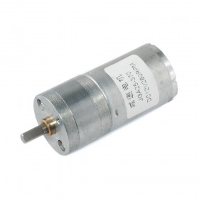 Motor DC con caja reductora JGA25-370 - 12V 280rpm