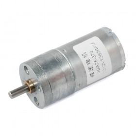 Motor DC con caja reductora JGA25-370 - 12V 1360rpm