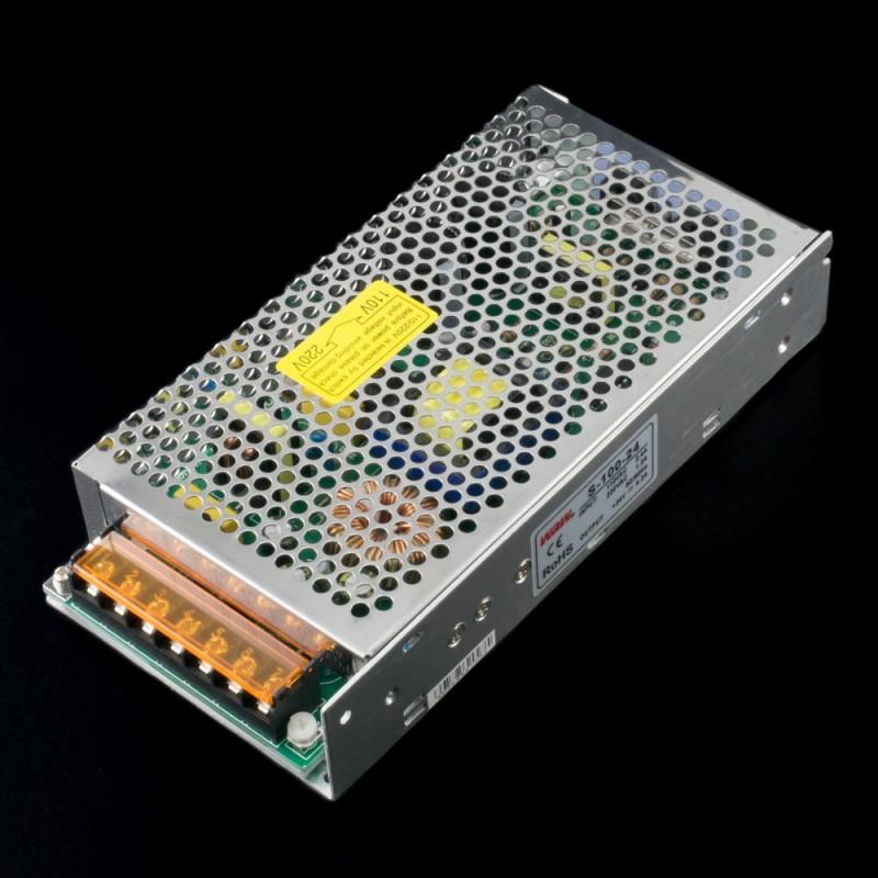 Fuente de alimentación conmutada 100W 24VDC 5A