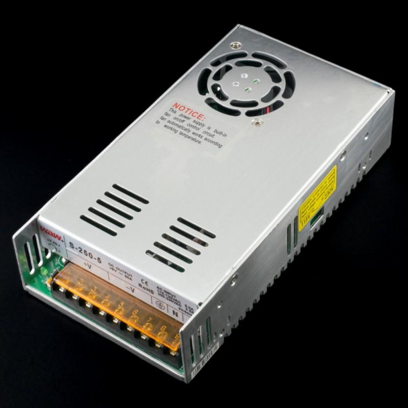 Fuente de alimentación conmutada 250W 5VDC 50A