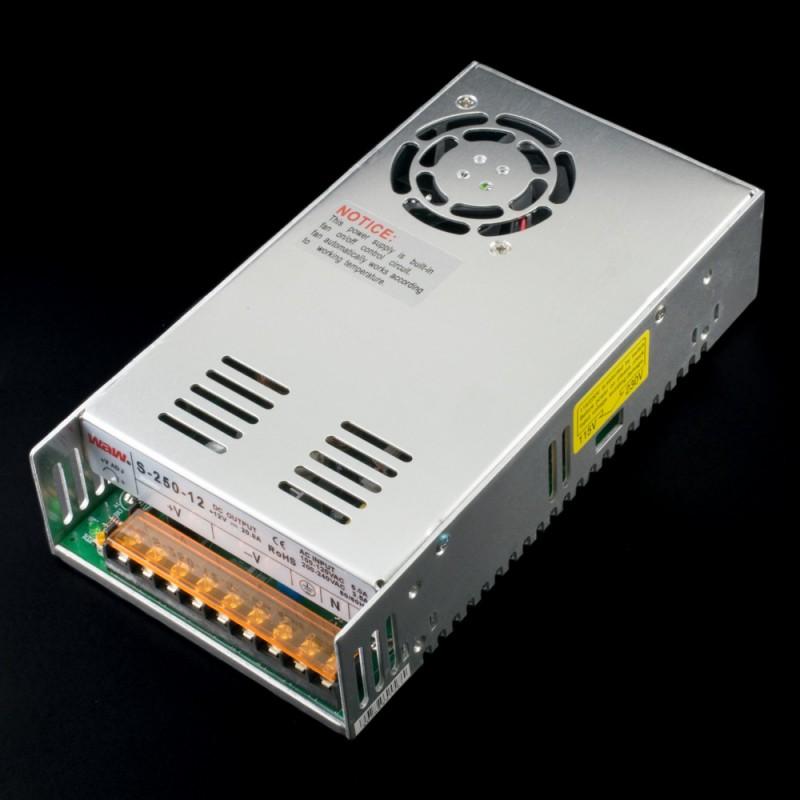 Fuente de alimentación conmutada 250W 12VDC 20A