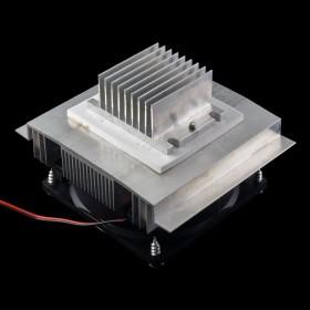 Kit disipadores y ventilador para celda Peltier