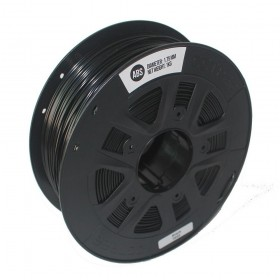 ABS Negro 1.75mm rollo de  1Kg