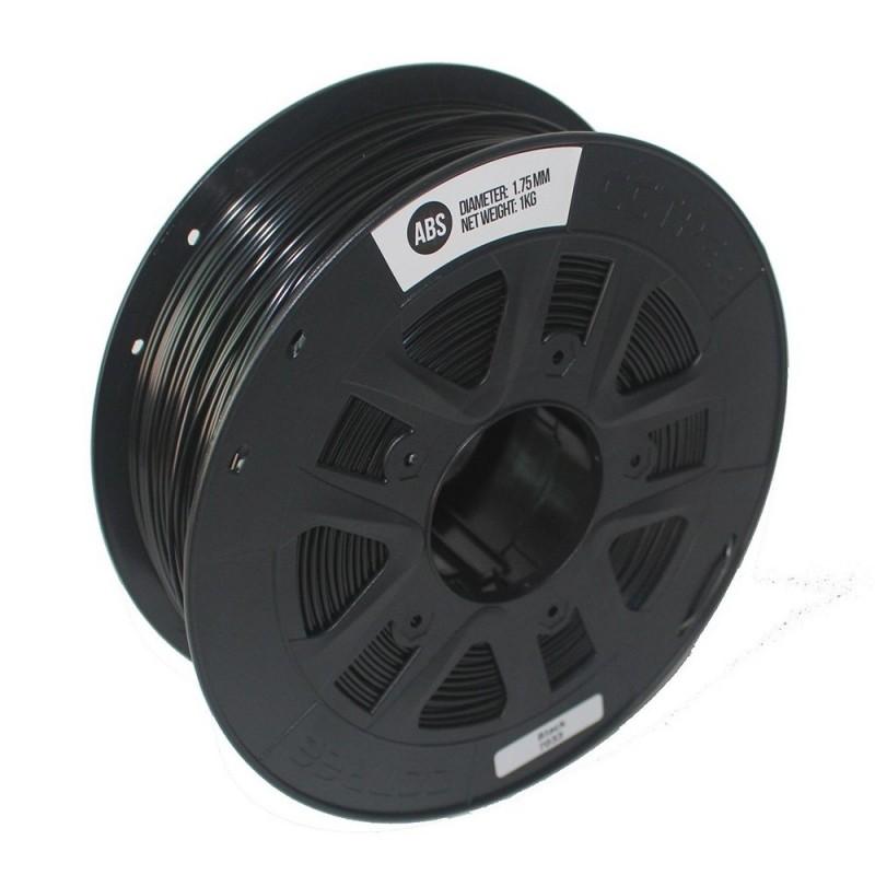 ABS Negro 1.75mm rollo de  1Kg