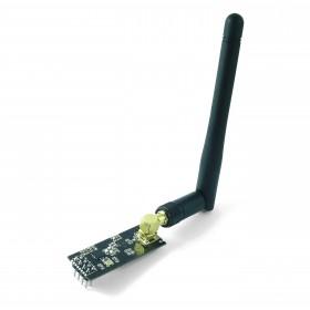Módulo NRF24L01+PA+LNA 2.4 GHz con Antena