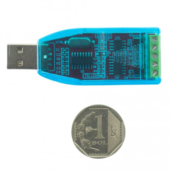 Conversor USB a RS485 con protección