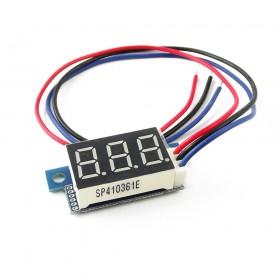 MiniVoltimetro 0-100V