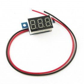 MiniVoltimetro 3-30V