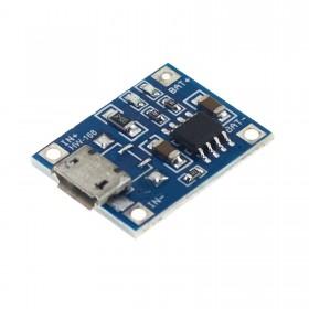 Cargador USB de bateria Litio 18650 1A