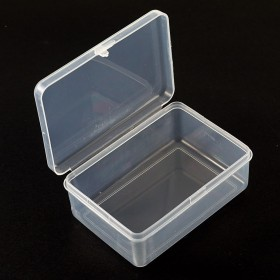 Caja de plástico simple 78*55*30mm (interno 74*50*24mm)
