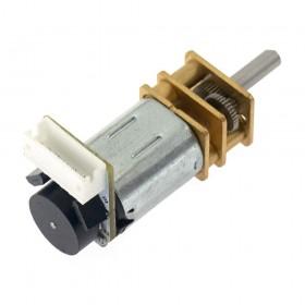 Micromotor N20 con encoder 12VDC 300RPM (100:1)