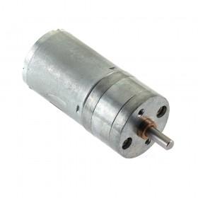 Motor DC con caja reductora JGA25-370 - 6V 280rpm