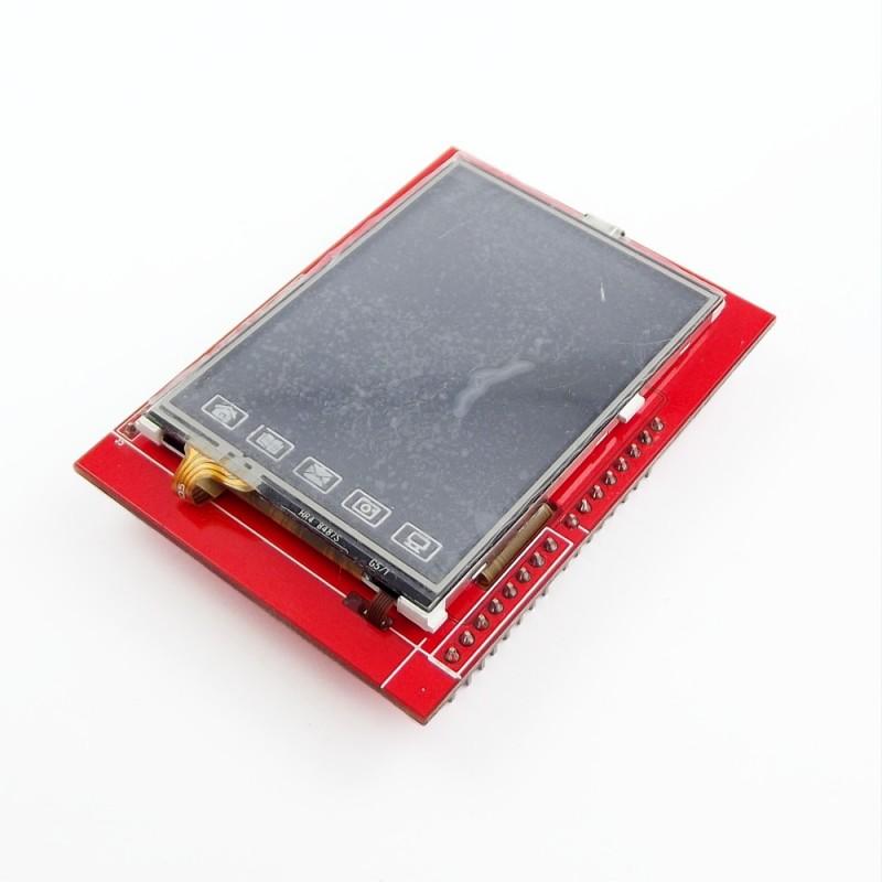"""Shield LCD 2.4"""" tactil"""