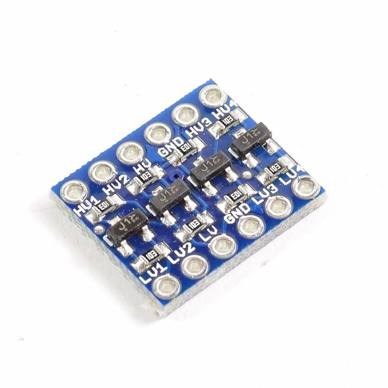 Conversor de nivel lógico I2C 5V a 3.3V