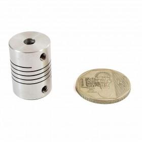 Acople para ejes 5mm a 5mm