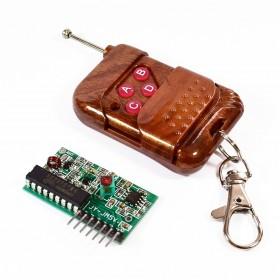 Control remoto y receptor 4ch
