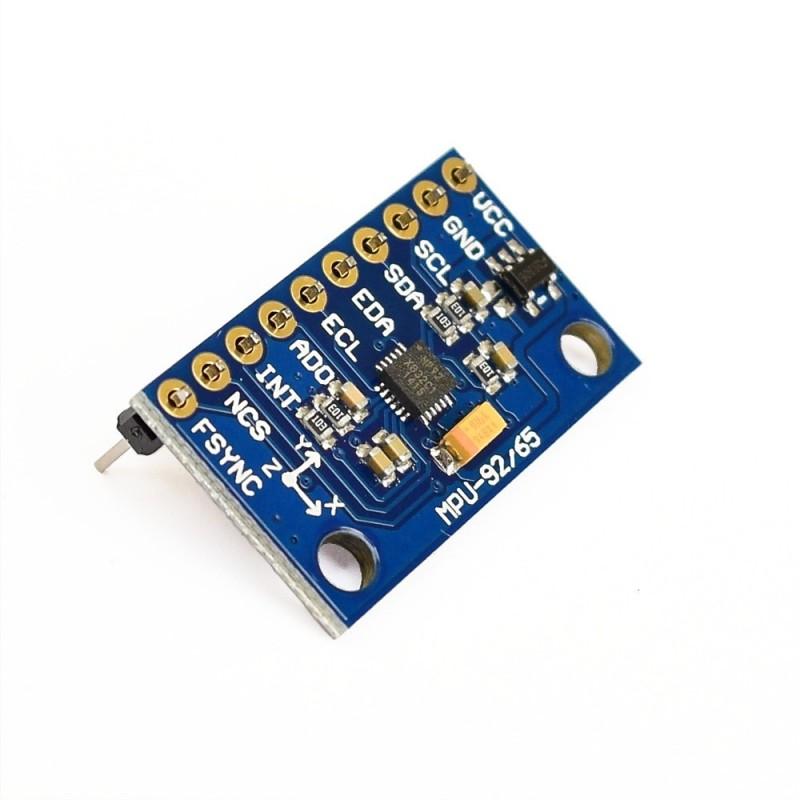 Módulo MPU9250: Acelerómetro, Giroscopio, Magnetómetro I2C