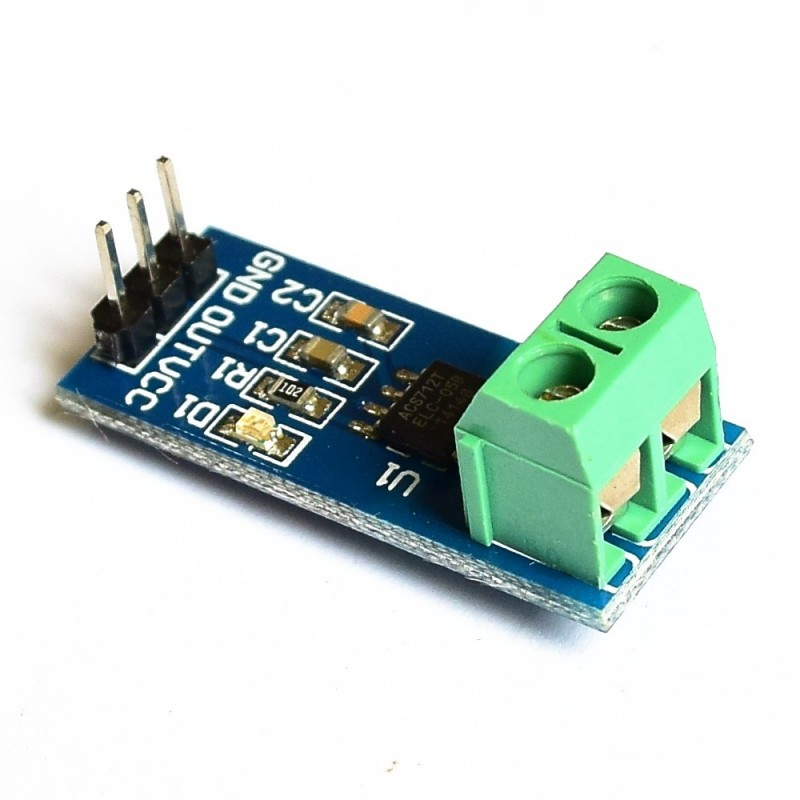Sensor de Corriente ACS712T-5A