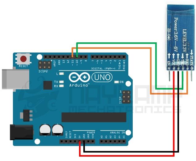 Conexion HC-05 y Arduino