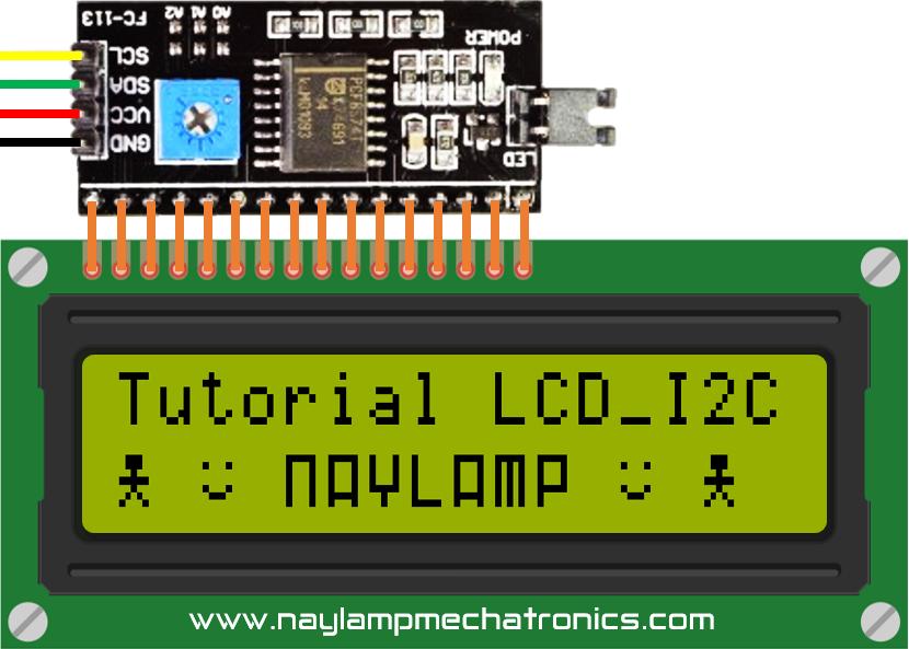 nuevos caracteres LCD I2C