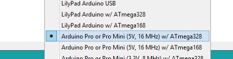 Targeta Pro Mini